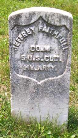 FAITHFUL, JEFEREY - Muskingum County, Ohio   JEFEREY FAITHFUL - Ohio Gravestone Photos