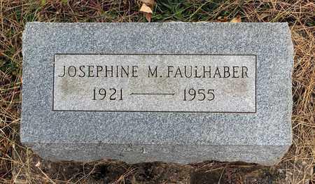 FAULHABER, JOSEPHINE M. - Muskingum County, Ohio | JOSEPHINE M. FAULHABER - Ohio Gravestone Photos