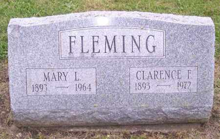 FLEMING, MARY L. - Muskingum County, Ohio | MARY L. FLEMING - Ohio Gravestone Photos