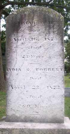 FORREST, JOSIAH - Muskingum County, Ohio | JOSIAH FORREST - Ohio Gravestone Photos