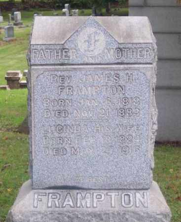 FRAMPTON, REV. JAMES H. - Muskingum County, Ohio | REV. JAMES H. FRAMPTON - Ohio Gravestone Photos
