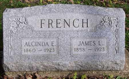 FRENCH, ALCINDA E. - Muskingum County, Ohio | ALCINDA E. FRENCH - Ohio Gravestone Photos