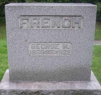 FRENCH, GEORGE M. - Muskingum County, Ohio | GEORGE M. FRENCH - Ohio Gravestone Photos