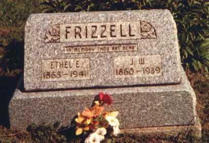 REDMAN FRIZZELL, ELIZABETH ETHEL - Muskingum County, Ohio | ELIZABETH ETHEL REDMAN FRIZZELL - Ohio Gravestone Photos
