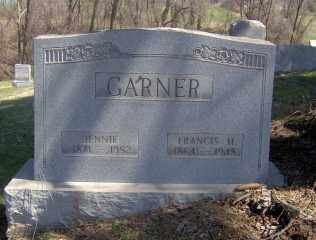 GARNER, JENNIE - Muskingum County, Ohio | JENNIE GARNER - Ohio Gravestone Photos