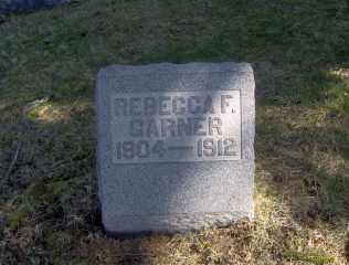 GARNER, REBECCA F - Muskingum County, Ohio | REBECCA F GARNER - Ohio Gravestone Photos