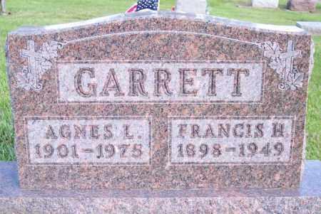 GARRETT, FRANCIS H. - Muskingum County, Ohio | FRANCIS H. GARRETT - Ohio Gravestone Photos
