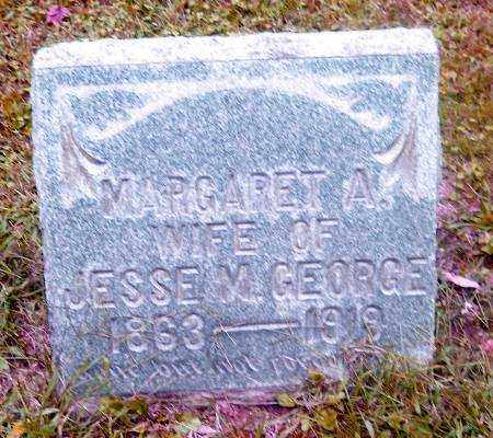 GEORGE, MARGARET A. - Muskingum County, Ohio | MARGARET A. GEORGE - Ohio Gravestone Photos