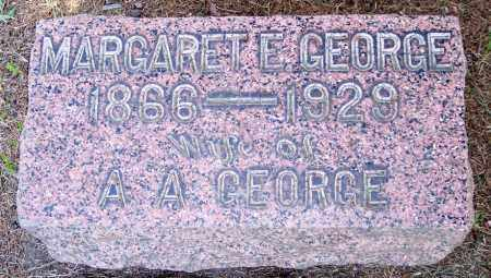 GEORGE, MARGARET E. - Muskingum County, Ohio | MARGARET E. GEORGE - Ohio Gravestone Photos