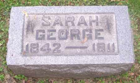 GEORGE, SARAH - Muskingum County, Ohio | SARAH GEORGE - Ohio Gravestone Photos