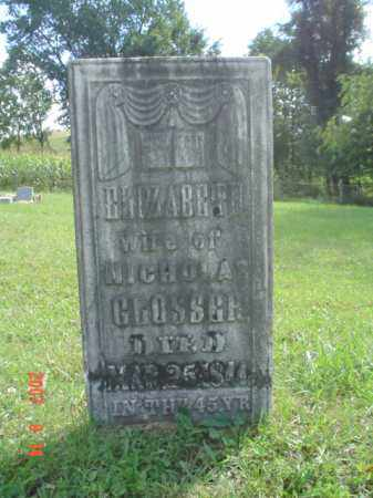 LEMAR GLOSSER, ELIZABETH D. - Muskingum County, Ohio | ELIZABETH D. LEMAR GLOSSER - Ohio Gravestone Photos