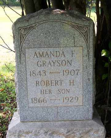 GRAYSON, ROBERT H. - Muskingum County, Ohio | ROBERT H. GRAYSON - Ohio Gravestone Photos