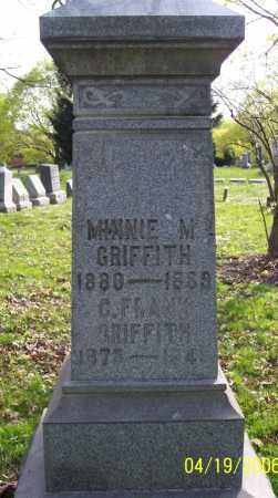 GRIFFITH, CHARLES FRANK - Muskingum County, Ohio | CHARLES FRANK GRIFFITH - Ohio Gravestone Photos
