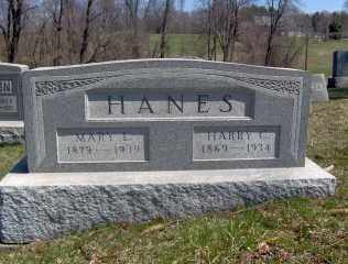 HANES, MARY L - Muskingum County, Ohio | MARY L HANES - Ohio Gravestone Photos