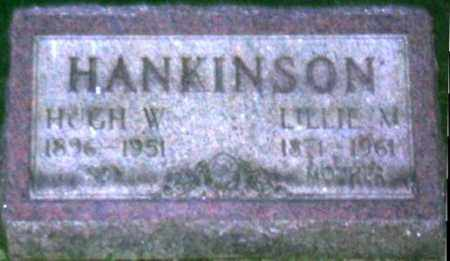 HANKINSON, LILLIE MARIA - Muskingum County, Ohio | LILLIE MARIA HANKINSON - Ohio Gravestone Photos