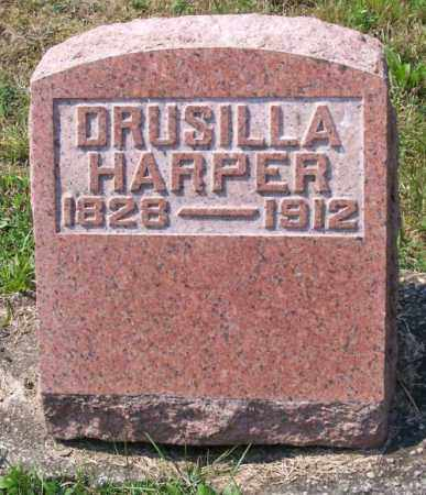 HARPER, DRUSILLA - Muskingum County, Ohio | DRUSILLA HARPER - Ohio Gravestone Photos