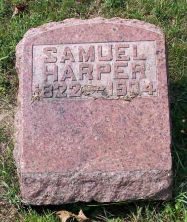 HARPER, SAMUEL - Muskingum County, Ohio | SAMUEL HARPER - Ohio Gravestone Photos