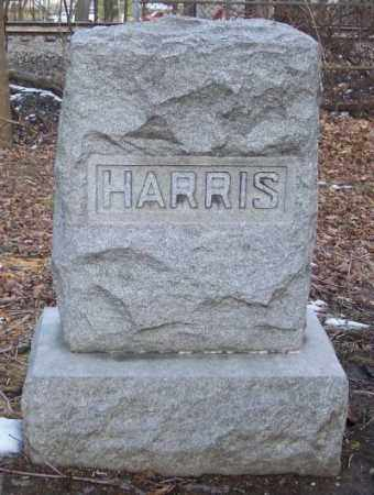 HARRIS, HENRY C. & EVA - Muskingum County, Ohio | HENRY C. & EVA HARRIS - Ohio Gravestone Photos