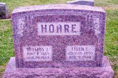 HOARE, THOMAS J. - Muskingum County, Ohio | THOMAS J. HOARE - Ohio Gravestone Photos
