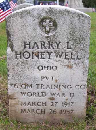 HONEYWELL, HARRY L - Muskingum County, Ohio   HARRY L HONEYWELL - Ohio Gravestone Photos