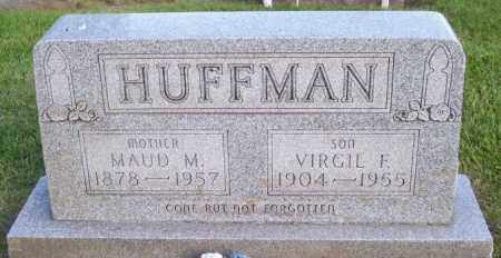 HUFFMAN, VIRGIL F. - Muskingum County, Ohio | VIRGIL F. HUFFMAN - Ohio Gravestone Photos