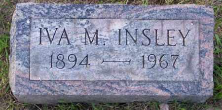 INSLEY, IVA M. - Muskingum County, Ohio | IVA M. INSLEY - Ohio Gravestone Photos