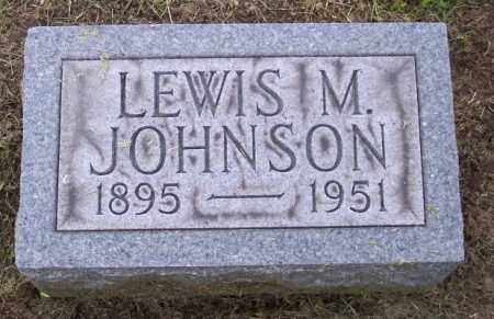 JOHNSON, LEWIS M. - Muskingum County, Ohio | LEWIS M. JOHNSON - Ohio Gravestone Photos