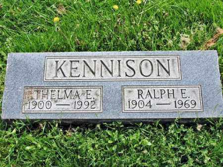 KENNISON, THELMA E. - Muskingum County, Ohio | THELMA E. KENNISON - Ohio Gravestone Photos