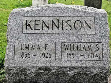 KENNISON, EMMA F - Muskingum County, Ohio | EMMA F KENNISON - Ohio Gravestone Photos