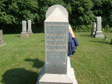 KING, ANGELINE - Muskingum County, Ohio | ANGELINE KING - Ohio Gravestone Photos