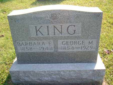 ? KING, BARBARA E - Muskingum County, Ohio | BARBARA E ? KING - Ohio Gravestone Photos