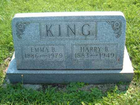 KING, HARRY B - Muskingum County, Ohio | HARRY B KING - Ohio Gravestone Photos