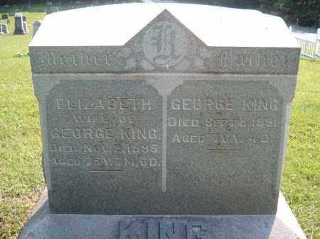 KING, GEORGE - Muskingum County, Ohio | GEORGE KING - Ohio Gravestone Photos