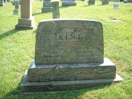 KING, HARVEY H - Muskingum County, Ohio | HARVEY H KING - Ohio Gravestone Photos