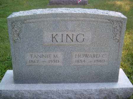 KING, FANNIE M - Muskingum County, Ohio | FANNIE M KING - Ohio Gravestone Photos