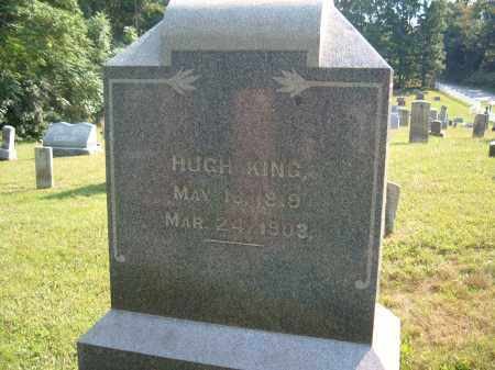 KING, HUGH - Muskingum County, Ohio | HUGH KING - Ohio Gravestone Photos