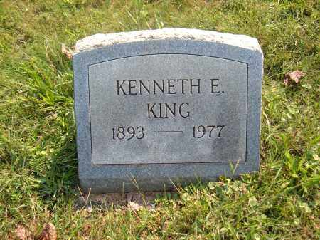 KING, KENNETH E - Muskingum County, Ohio | KENNETH E KING - Ohio Gravestone Photos