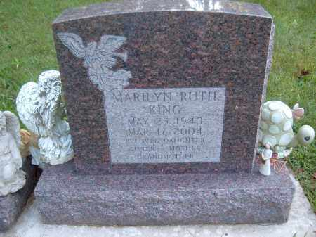 KING, MARILYN RUTH - Muskingum County, Ohio | MARILYN RUTH KING - Ohio Gravestone Photos