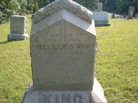 KING, MELVILLE S. - Muskingum County, Ohio | MELVILLE S. KING - Ohio Gravestone Photos