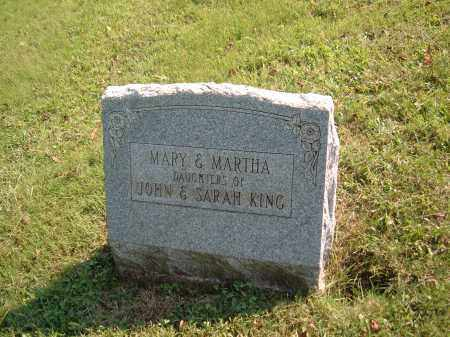 KING, MARTHA - Muskingum County, Ohio | MARTHA KING - Ohio Gravestone Photos