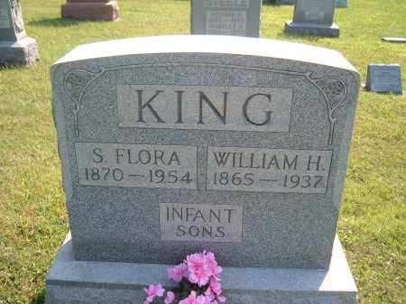 KING, S. FLORA - Muskingum County, Ohio | S. FLORA KING - Ohio Gravestone Photos
