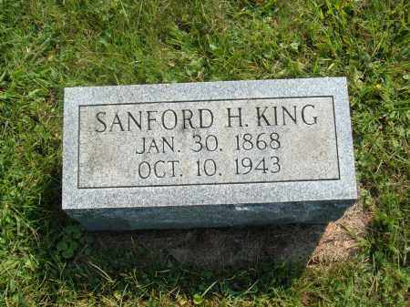 KING, SANFORD H. - Muskingum County, Ohio | SANFORD H. KING - Ohio Gravestone Photos