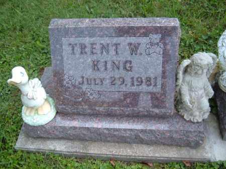KING, TRENT W - Muskingum County, Ohio | TRENT W KING - Ohio Gravestone Photos