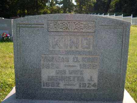 KING, THOMAS A - Muskingum County, Ohio | THOMAS A KING - Ohio Gravestone Photos