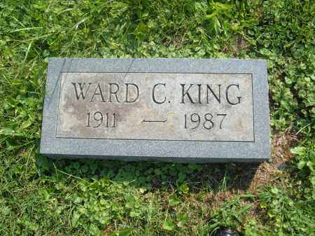 KING, WARD C - Muskingum County, Ohio | WARD C KING - Ohio Gravestone Photos
