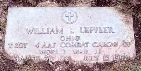 LEFFLER, WILLIAM L. - Muskingum County, Ohio | WILLIAM L. LEFFLER - Ohio Gravestone Photos