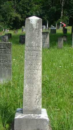 LORIMER, SAMUEL - Muskingum County, Ohio | SAMUEL LORIMER - Ohio Gravestone Photos