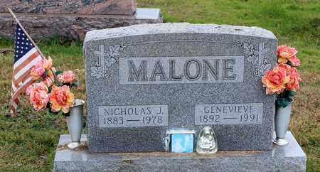 MALONE, GENEVIEVE - Muskingum County, Ohio | GENEVIEVE MALONE - Ohio Gravestone Photos
