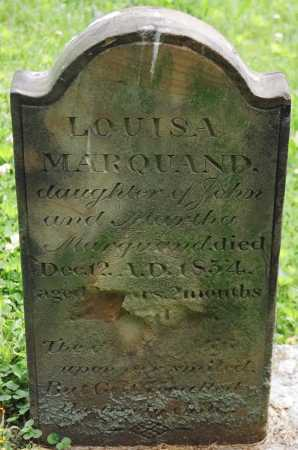 MARQUAND, LOUISA - Muskingum County, Ohio | LOUISA MARQUAND - Ohio Gravestone Photos