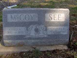 MCCOY, ESTELLA - Muskingum County, Ohio | ESTELLA MCCOY - Ohio Gravestone Photos
